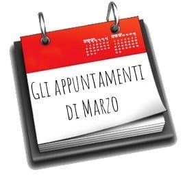 Gli appuntamenti di marzo