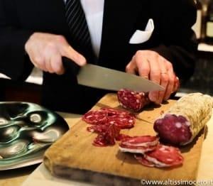 ristorante al gambero salame del berlinghetto